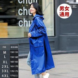 Плащи Водонепроницаемое пальто Девушки Плащ Rain Gear Pooncho Мода Длинные Ткани Комбинезон Capa de Chuva BC50RC