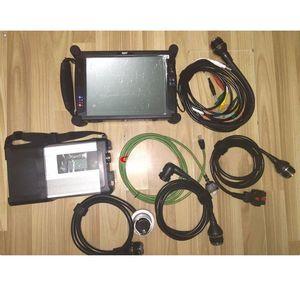 Диагностические инструменты EST MB Star C5 SD Connect с 2021.06 500 ГБ HDD HDD Win7 Super Speed WiFi и EVG7 DL46 планшетный ПК 2 ГБ готовая работа бесплатный корабль