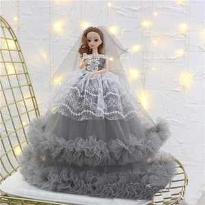45cm Cartoon Dolls Girl Clothes Princess Dress Inspiring Toy Collector Toys For Girls Gifts Birthday Present