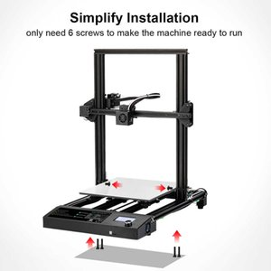 3D Printers & Scanners Design Printer 310*310 *400mm Large Printing Size FDM and PLA ABS PETG Filament 1.75mm Fast Prototyping Creative Toy Gift. S3A0