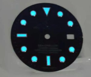 Repair Tools & Kits 29mm Blue Luminous Watch Dial For 8200 Movement With R Logo