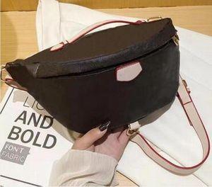 Роскошные дизайнеры талии сумки крест тела новейшая сумочка знаменитый Bumbag модная сумка на плечо коричневый bum fanny pack с тремя стилями