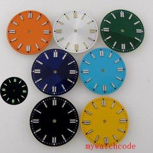 Repair Tools & Kits 29mm Green Luminous Watch Dial For MIYOTA 8215 821A ETA 2824 2836 Mingzhu 2813 3804 Automatic Movement