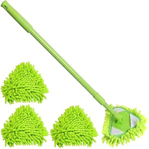 Triangle Mini Flat Lazy Wall Household Cleaning Chenille Washing Mop Dust Brush Home Clean Tools