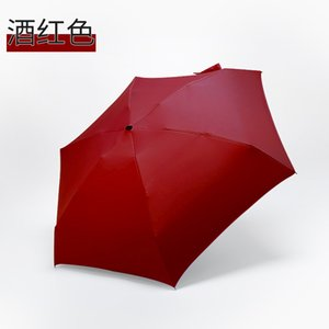 Rainy Day Pocket Umbrella Mini Folding Sun Umbrellas Parasol Sun Foldable Umbrella Mini Umbrella Candy Color Traveling Rain Gear 515 R2
