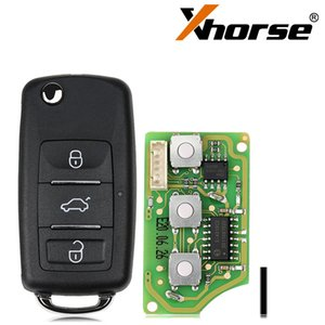 Xhorse XKB510EN Universal Wire Remote for VW B5 Style 3 Buttons 5pcs