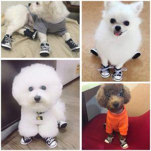 4 قطع الدنيم كلب أحذية المضادة للانزلاق ماء الرياضة أحذية رياضية الجوارب تنفس الغنائم اللوازم