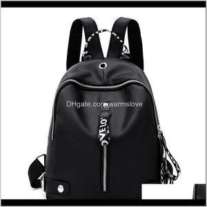 Sport Bags Black White Ribbon Backpacks School Women Fashion Backpack Korean Version Academic Style Zipper Knapsack Bag Soft Surface 1 Bhcdt