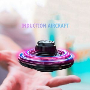 LED Fingertip spinning top Hand Spinners Toy Zinc Alloy Metal Fidget Spinner Fingertip Gyro Spinning Top Decompression Anxiety Toys Many Styles Mixed