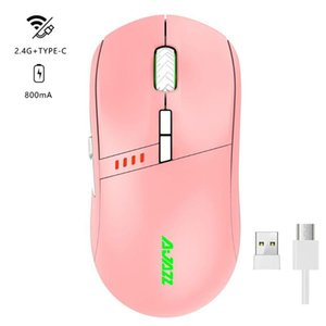 AJazz Professional-Grade I305Pro Wireless RGB 2.4G Gaming Mouses X5QC Mice