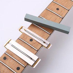 Guitar Fret Wire Sanding Stone Protector Kit Finger Plate Radian Polishing DIY Luthier Tool
