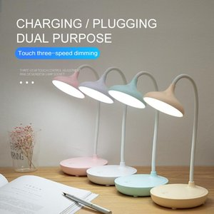 Table Lamps 1PC 5W LED USB Charging 3 Modes Touch Dimming Lamp Foldable Eye Protection Reading