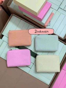 Colorufl C Maquillage Sac de rangement Canvas Case à glissière Coque cosmétique avec boîte-cadeau
