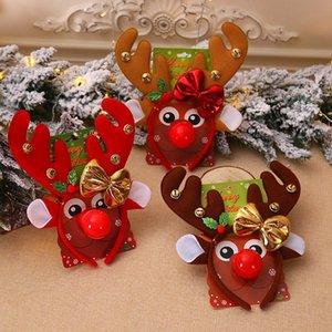 Hair Accessories Christmas Headbands Santa Tree Elk Antlers Headband Kids Adult Headwear Reindeer Ornaments Decorations Party Cosplay