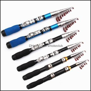 Boat Sports & Outdoorsboat Fishing Rods 1.0M-2. Rod Travel Portable Sea Pole For Freshwater Saltwater Ys-Buy Drop Delivery 2021 1Hmig