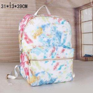 Backpack Mens School Bags women Shoulder Bag Removable Strap Fashion Letter Pattern String