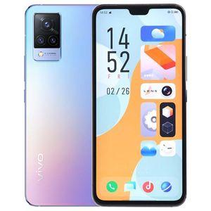 """Оригинальный Vivo S9 5G мобильный телефон 12GB RAM 256GB ROM MTK DIMANTERNY 1100 64MP AF 4000 мАч Android 6.44 """"AMOLED Полноэкранный отпечаток пальца ID Face Sake NFC Smart Cillphone"""