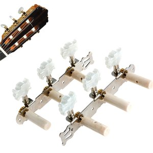 One pair Guitar Tuning Pegs Machine Tuners White Machine Head for Classic Guitar Part Accessories