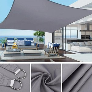 Shade Waterproof Sun Sail Awning Shelter For Outdoor Canopy Garden Patio Camping Tent Large Cloth Sunshade Protection