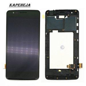 5,0 дюйма для LG K8 2017 X240 X240H X240K ЖК-панели ЖК-дисплеи Дисплей Сенсорный экран Digitizer Узел