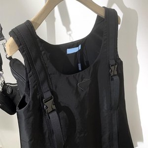21ss 여성 드레스 캐주얼 레이디 미니 스커트 여자 Petticoat 여름 드레스 유행 느슨한 검은 고품질 INS 스타일 파티 클럽