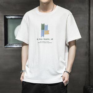 Luxury T-shirts Men's Short T-shirt 2021 Summer Korean Trend Student Cloth Half Sleeve Youth T-shirt