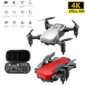 Quadrocopter Mini Drone With 4KCamera FPV Profesional HD Foldable Camera Drones Altitude Hold Children ChristmsToy