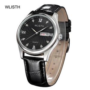 Наручные часы Роскошные Мужские Часы Двухместный Календарь WLISTH Водонепроницаемые Спортивные Часы Светящиеся Наручные Часы Повседневные Алмазные Часы Relogio Masculin