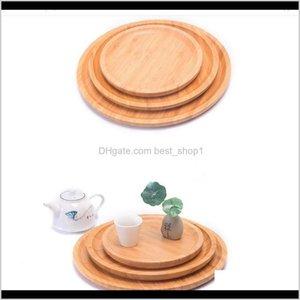 요리 접시 식기 부엌, 식당 주방, 식당 정원 드롭 배달 2021 다목적 빵 커피 차 과일 접시 대나무 봉사 트레이 호