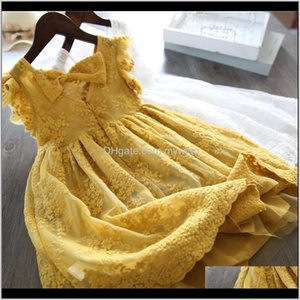 Baby, & Maternity Drop Delivery 2021 Girl Dress Summer Kids Dresses For Girls Casual Wear Little Princess Childrens Clothing Lace Tutu Birthd