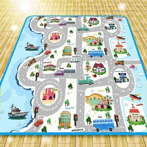Baby Play Mat Toys For Children's Kids Climbing Pad Developing Waterproof Mat Rubber Eva Puzzles Foam Funny Baby Mat Kid Blanket 210401