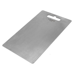 Lixada 1.8MM Thick Titanium Cutting Board for Home Kitchen Cooking Outdoor Chopping board kneading Camping Cookware