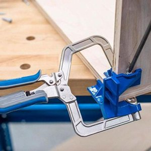 90 Degree Right Angle Woodworking Clamp Picture Frame Corner Clip Tools Clamps for Woodworking Dropship sea shippingOOD6241