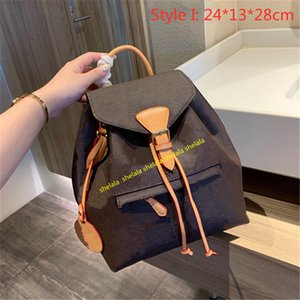 2021 роскошные женские кошельки рюкзаки рюкзаки сумки дизайнеры школьные сумки строки задние пакеты классические студента сумка для студенческой сумки напечатанные тиснениями цветы с биркой L21050601