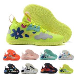 2021james sertleşir Vol. 5 V Basketbol Ayakkabıları Vol.5 Floresan Pembe Alev Kırmızı Dokuma Sneakers Erkekler 5 S Eğitmenler Spor