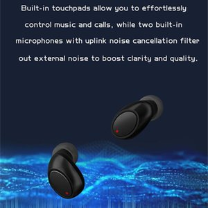 True Buds Air-3 Mini Stereo M1 In Mic Bluetooth Wireless Headphones Headset Earphone TWS Ear With PK 5.0 A6s Airdots Uvrug