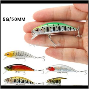 Hooks 55Cm5G Fishing Hook Submersible Full Swimming Layer Tremors Sinkingmandarin Fish With Warped Mouth And Bait M45 Dq1Sh Caixk