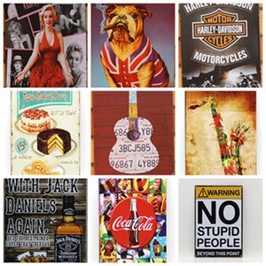 Metal Painting Bar cafe Corona Extra Tin Signs Retro Wall Stickers Decoration Art Plaque Vintage Home Decor Bars Pub Cafes WLL754