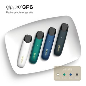 Gippro Japan GP6 Quality E-cigarette Kits Rechargeable with USB charged Lithium battery easy to use no fire key wholesale DHL