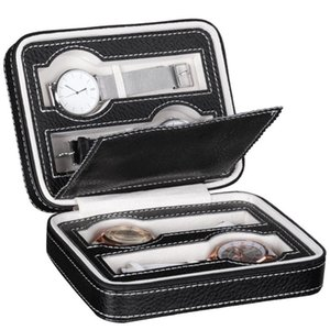 Leather Watch Box Dislpay Exquisite Durable Portable Men Women Storage Organizer Case For Home Travel Bags