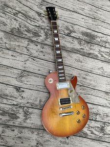 Aged Relic custom Electric Guitar, Solid Maple Cap, One Piece Body&Neck, Chrome Hardware