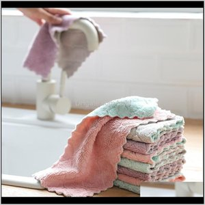 Cloths Household Cleaning Tools Housekeeping Organization Home & Gardendishcloth, Kitchen Cloth, Absorbent, Non Greasy, Thickened And Degreas