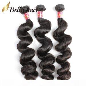 Loose Wave Human Hair Bundles Unprocessed Peruvian Indian Malaysian Brazilian Virgin Hair Wefts Extensions 3or4pc lot Wholesale Bella Hair