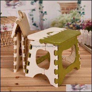 Living Room Furniture & Gardenthicken Folding Children Outdoor Cam Train Portable Fold Chair Creative Green Beige Home Foldable Plastic Stoo