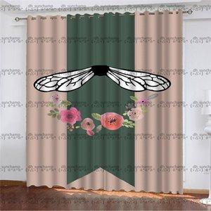 Fashion Durable Curtain Hipster Top Quality Designer Cloth Home Bedroom Good Dream Bathroom Window Door Multi-function Luxury Curtain