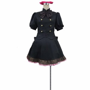 Blood Blockade Battlefront Black Dress Clothing Cosplay Costume