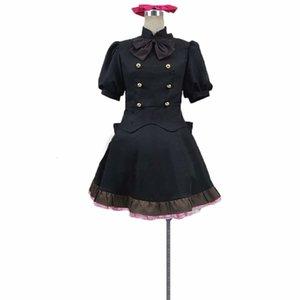 Blood Blockade Battlefront Black Dress Clothing Cosplay Costume