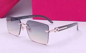2021 moda esporte óculos de sol para homens 2021 unisex buffalo chifre vidros vermelhos homens mulheres óculos de sol de prata ouro quadro de metal óculos lunettes 50792