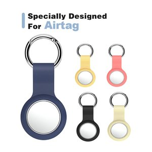 new Straps Protective Case For Air Tags Anti-fall Anti-scratch Accessories Silicone Protector Cover Shell Sleeve For AirTags Locator Tracker