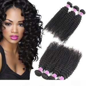 Unprocessed 8A Brazilian Virgin Hair Vendor Silky Kinky Curly Human Hair Bundles Remy Peruvian Malaysian Indian Virgin Hair Extensions Wefts